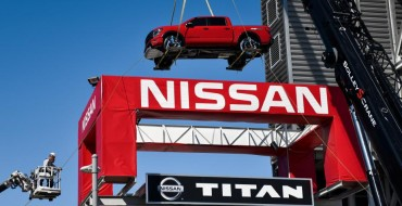 Three 2020 Nissan TITAN Models Adorn Home of the Tennessee Titans
