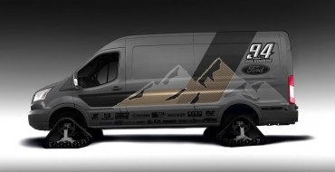 Ford Transit at SEMA 2019 Shows Vans Can Shred, Too