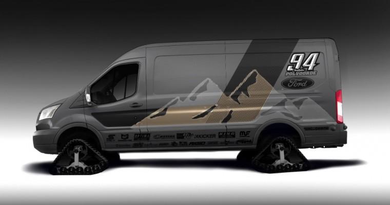 Ford Transit at SEMA 2019 Shows Vans Can Shred, Too