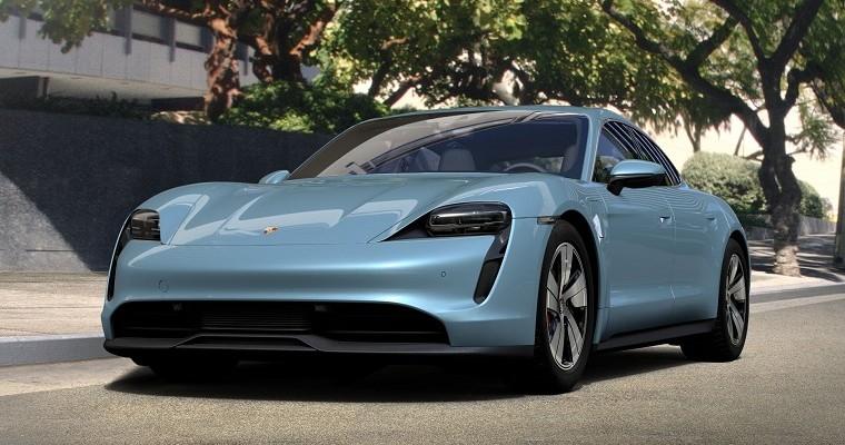 Porsche Announces Cheaper Taycan 4S