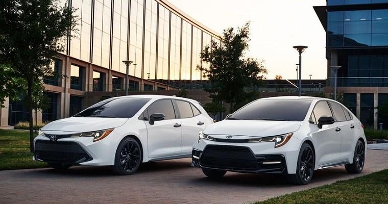 Toyota Corolla Nightshade Editions Are Looking Slick