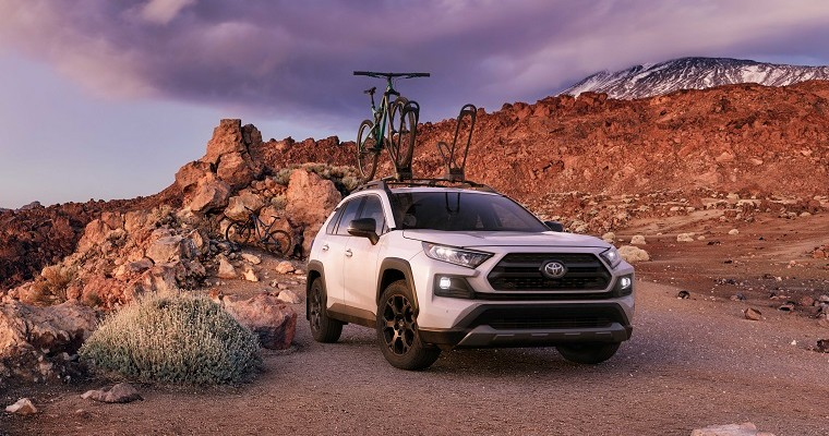 2020 Toyota RAV4 TRD Off-Road Ready to Bust Trails