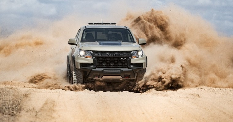 Changes Coming to the 2021 Chevy Colorado Trim Lineup