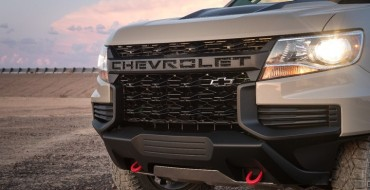 [PHOTOS] 2021 Chevrolet Colorado Gets Tough New Look