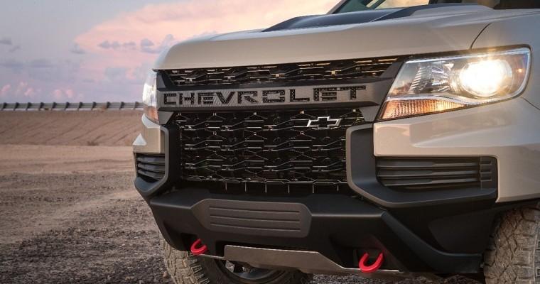 [PHOTOS] 2021 Chevrolet Colorado Gets Tough New Look