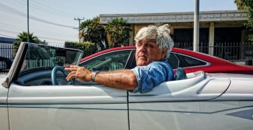Jay Leno Drives Fan Fighting Cancer in 2020 Corvette