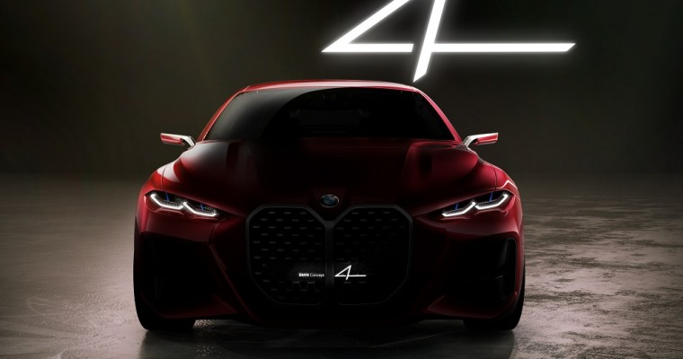 [PHOTOS] BMW Concept 4 Offers a Glimpse to the Future in Frankfurt