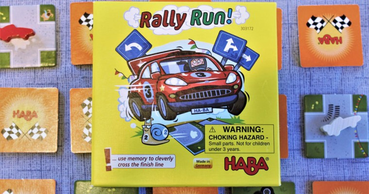 Kids Will Love Rally Run!, a Fast Tile-Flipping Game