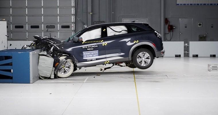 2019 Hyundai Nexo Scores IIHS Top Safety Pick+ Rating