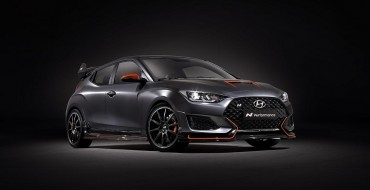 Hyundai Veloster N Performance Concept Flaunts Model's Tuning Potential