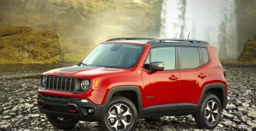 IIHS Rates 2020 Jeep Renegade as a Top Safety Pick for 2019