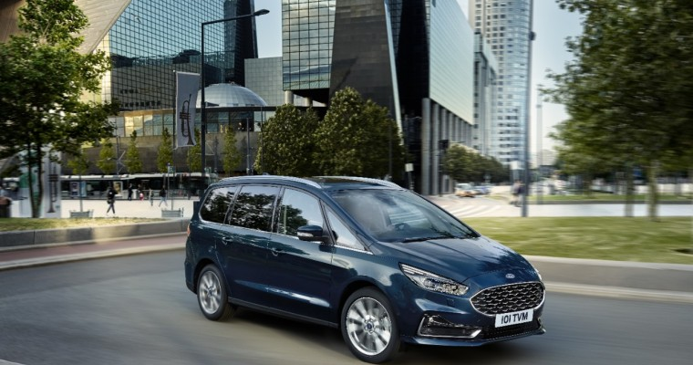 [Photos] New Ford Galaxy Vignale is a Fancy Van