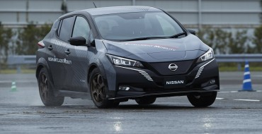 Nissan Shows off All-Electric, All-Wheel-Control Test Car