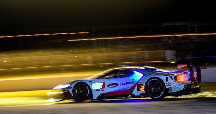 Ford GT Factory Program Ends With Petit Le Mans Podium