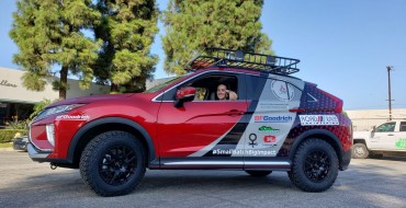 Mitsubishi Supports Nonprofit in Rebelle Rally
