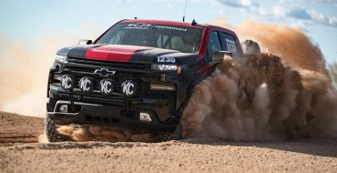 The New Chevy Silverado Race Truck Is Ready to Conquer the Desert