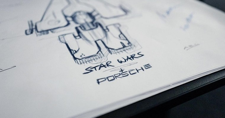 Porsche-Designed Starship Will Feature in Upcoming 'Star Wars' Film