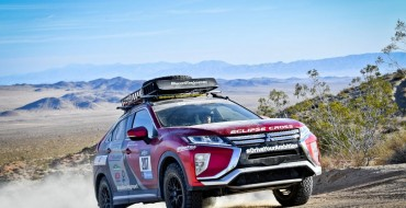 Team in Mitsubishi Eclipse Cross Wins Second Place in Rebelle Rally
