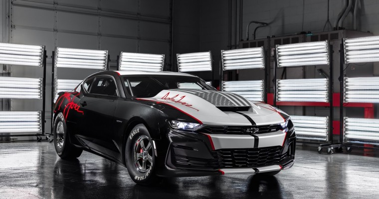 2020 COPO Camaro John Force Edition Debuts at SEMA