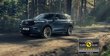 2020 Ford Explorer Plug-In Hybrid Gets 5-Star Euro NCAP Rating