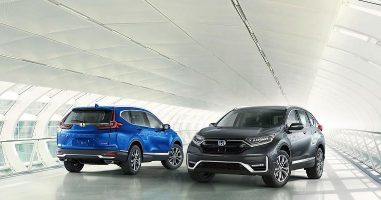 2020 Honda CR-V Named Green SUV of the Year