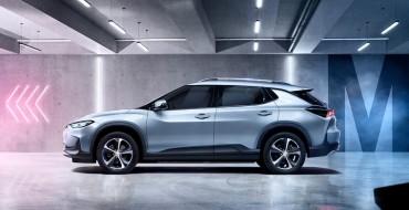 Chevrolet Menlo Electric Crossover Debuts in China