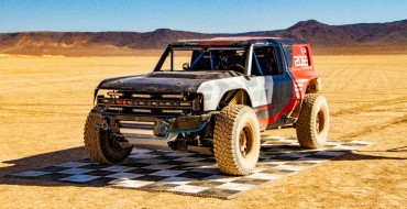 Ford Bronco R Race Prototype Teases What's to Come