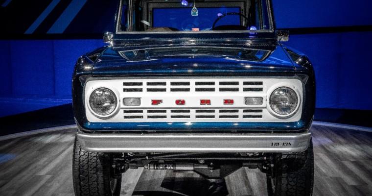 Jay Leno's 1968 Ford Bronco Has a Shelby GT500 V8