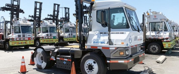 Toyota Shows Off First Hydrogen-Powered Tractor Rig
