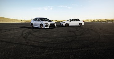 Subaru Unveils WRX and WRX STI Series.White Editions