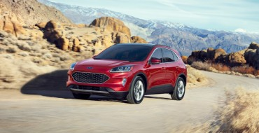 2020 Ford Escape Hybrid Best-in-Class with 41 Combined MPG