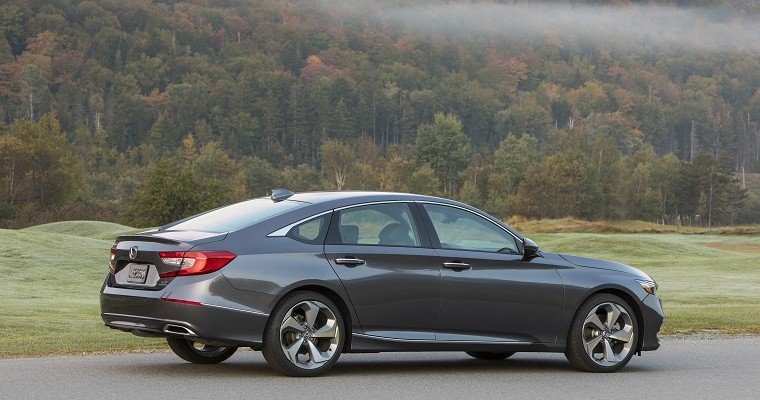 Honda Accord Named 2020 Edmunds Top Rated Sedan