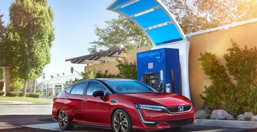 Electrifying Updates for 2020 Honda Clarity Fuel Cell