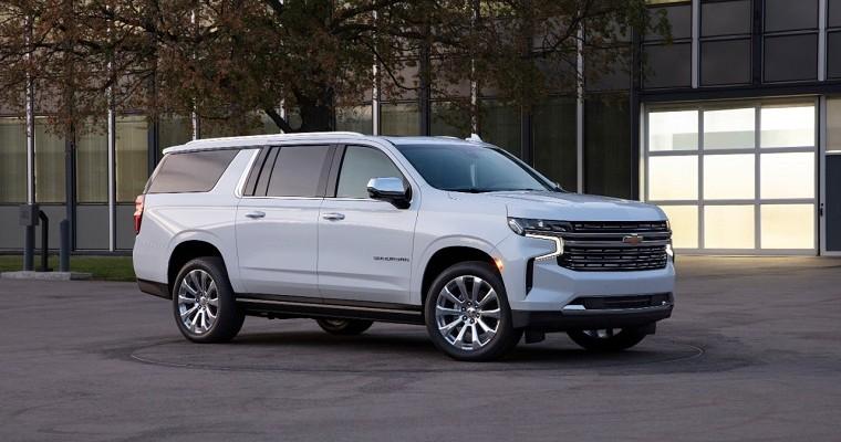 2021 Chevrolet Suburban Features Nine Exterior Paint Choices
