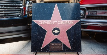 Chevrolet Suburban Is First Auto Actor to Earn Walk of Fame Star