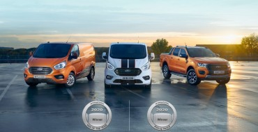Ford Wins 2020 International Van of The Year, Pickup Awards