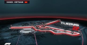 F1 Reveals Final Hanoi Grand Prix Circuit Layout