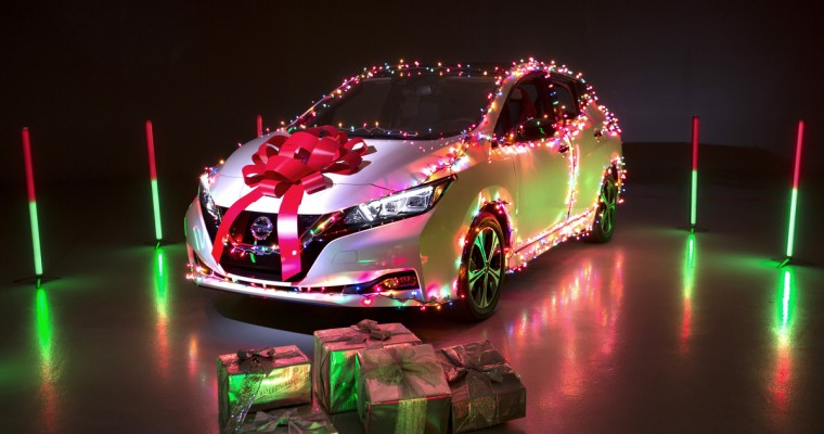Nissan LEAF can Go Christmas Caroling with a New Downloadable Feature