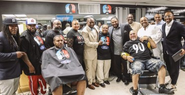 Precision Blendz Wins Ford Men of Courage Cincinnati Barbershop Challenge