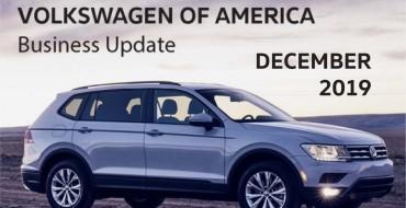 Volkswagen Reports November Sales Numbers