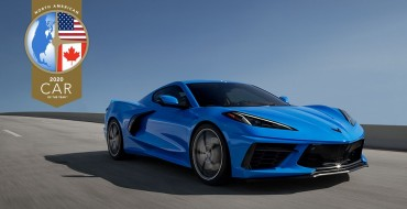 2020 Chevrolet Corvette Stingray Named North American Car of the Year