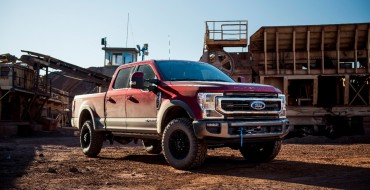 2020 F-Series Super Duty Tremor Gets Integrated Electric Winch