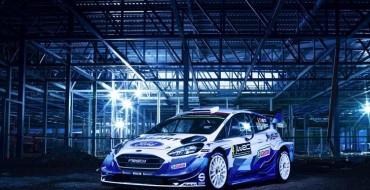 Special De-Livery: 2020 Ford Fiesta WRC Car Revealed
