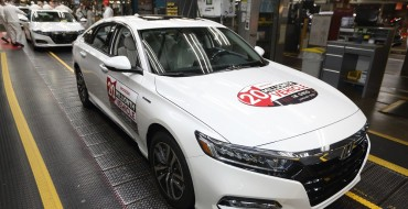 Honda Celebrates 20 Millionth Vehicle Produced in Ohio