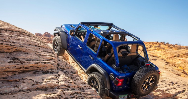 FOUR WHEELER Names Jeep Wrangler Rubicon EcoDiesel 2020 SUV of the Year
