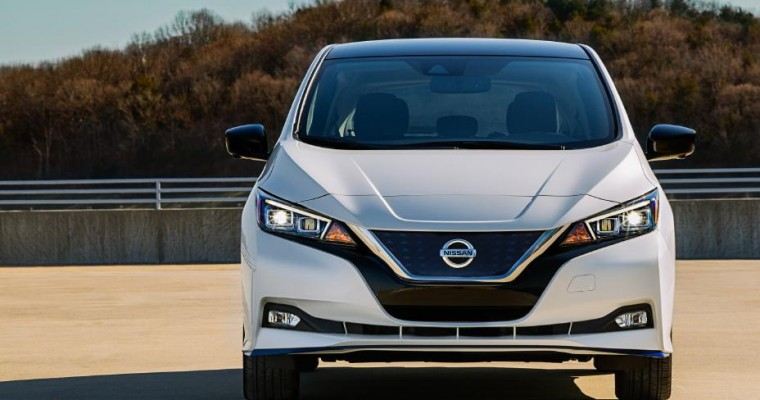 Nissan LEAF Earns Third Consecutive 5-Year Cost to Own Award from Kelley Blue Book