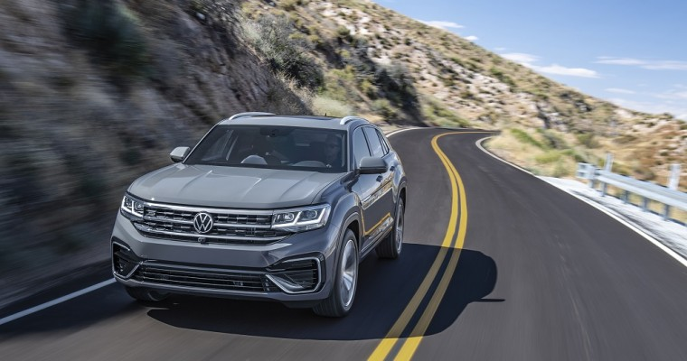 2020 Volkswagen Atlas Cross Sport Starts at $30,545
