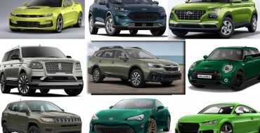 Unusual Car Colors: 2020 Models Available in Green