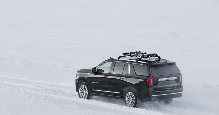 2021 GMC Yukon Can Do Donuts Like a Spinning Top