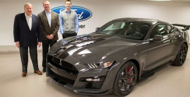 Man Wins 2020 Mustang Shelby GT500 Venom in JDRF Raffle